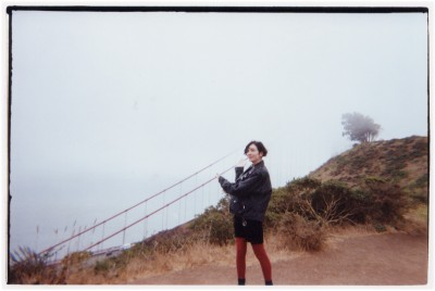 E. V. at the Golden Gate National Recreation area.